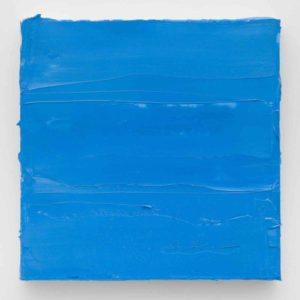 Lisa Patroni art blue monochrome painting