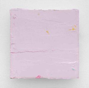 Lisa Patroni art monochrome painting Cloud 2019