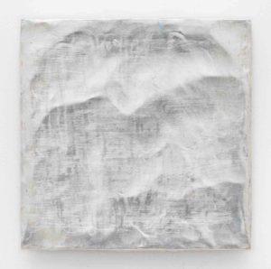 Lisa Patroni art monochrome painting silver