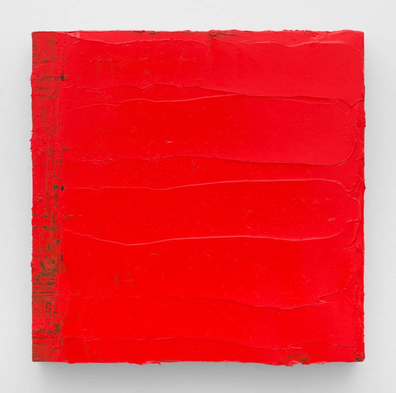 Lisa Patroni art monochrome painting red