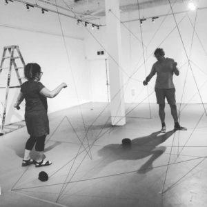 Lisa Patroni Oliver Wagner art installation Bondi Pavilion 2019