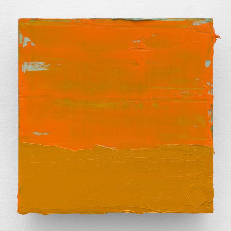 Lisa Patroni art End 2019 monochrome painting