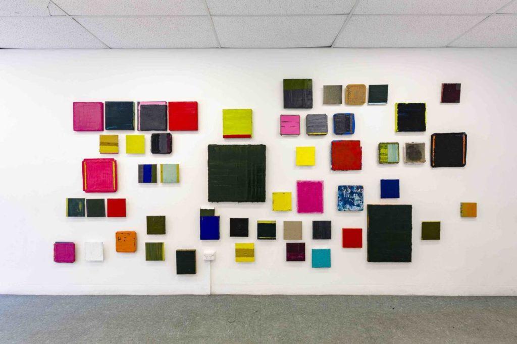 Lisa Patroni art exhibition Stacks Projects Sydney 2019 monochromes