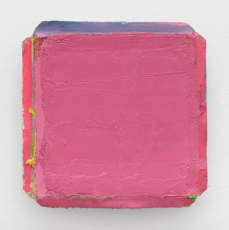 Lisa Patroni art monochrome painting Beginning 2019