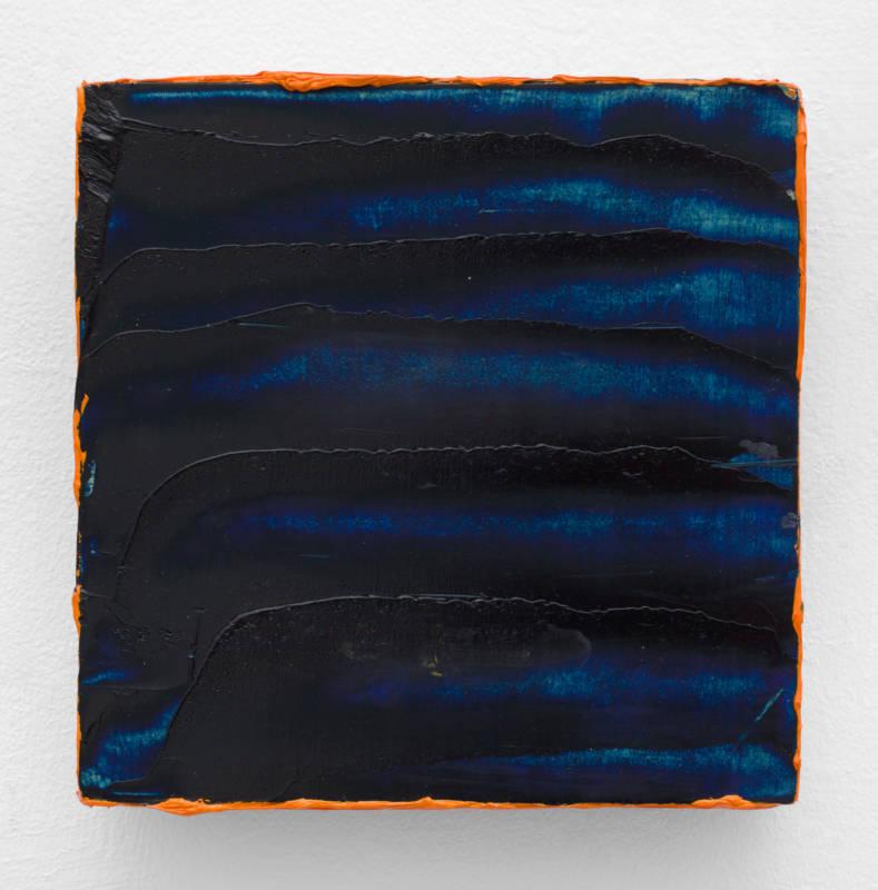 Lisa Patroni art monochrome painting Sounds 2019