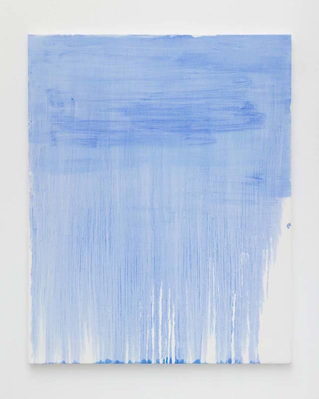 Lisa Patroni blue monochrome National Art School MFA graduate show 2018