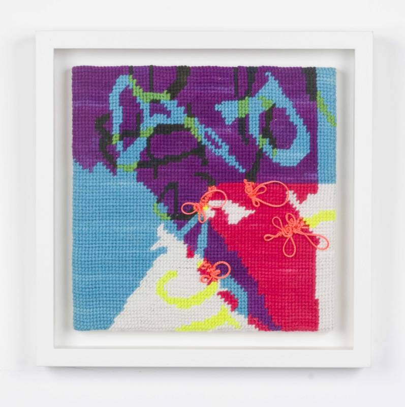 Sarah Edmondson art wool Sydney 2019