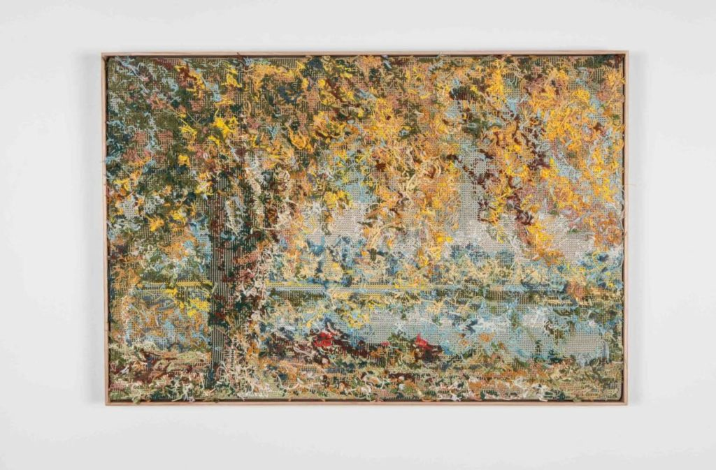 Virginia Reid art Yellow Tree 2019 Airspace